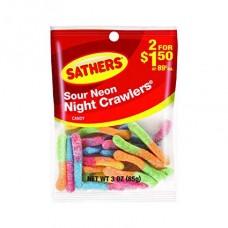 Sathers 2/$1.50 Night Crawlers