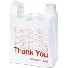 Plastic Bag Heavy White Ty Large