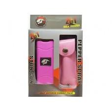 Stun Gun Pepper Spray Self Defense Combo 2 in 1