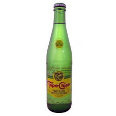 Topo Chico Lime Water Glass Bottle