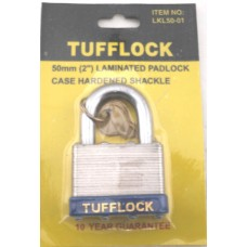 Tufflock 50mm Laminated Pedlock
