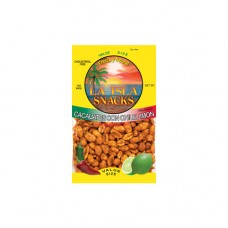 Island Snacks Chile Lemon Peanuts 7.5oz.