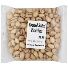 Valued Naturals Dry Roasted Salted Pistachios
