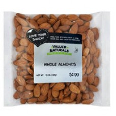 Valued Naturals Whole Almonds
