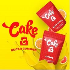 Cake Delta 8Gummies 500mg Sour Citrus