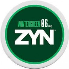 Zyn Wintergreen 15 Nicotine Pouches