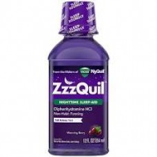 Vicks ZzzQuil With Warming Berry 12 oz