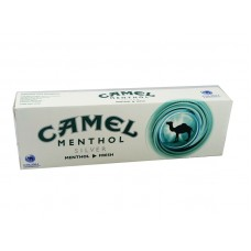 Camel Crush Menthol Silver Kings Box