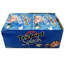 Trident Splash Peppermint Swirl Gum