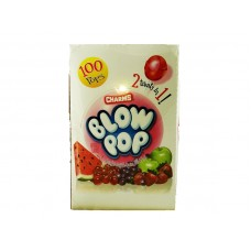 Charms Blow Pop 2-in-1 Assorted Bubble Gum Filled