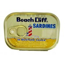 Beach Cliff Sardines In Mustard Sauce