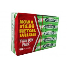 Wrigleys Spearmint Chewing Gum $.35 Ctvs.