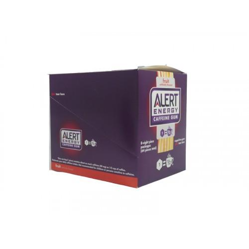 Alert Energy Gum Fruit Caffeine
