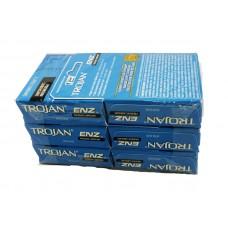 Trojan Enz Primium Lubricant Condoms Blue214