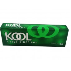 Kool Menthol Filter Kings Box