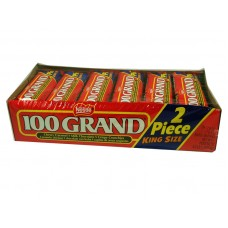 100 Grand Nestle King Size Chewy Caramel Milk Choc