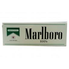 Marlboro Menthol Silver 100 Box