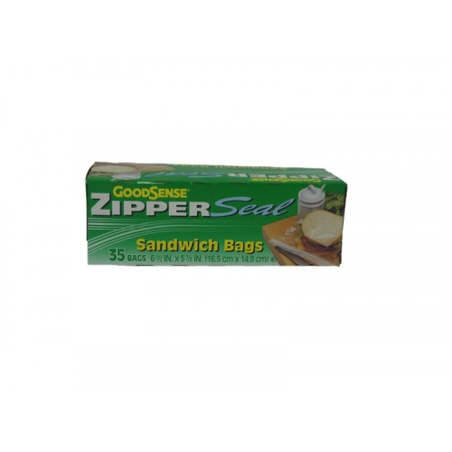 Goodsense Zipper Seal 16.5 CM X14.9 CM.