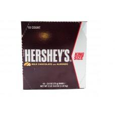 Hersheys Milk Chocolate Almonds King Size
