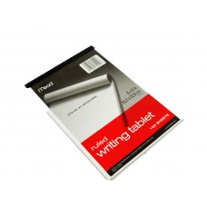 Mead Writing Tablet Ruled 100 Sheets