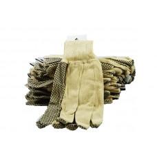 Gloves Black Dotted Brahma