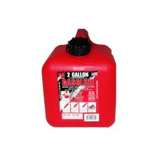 Gas Can 2 Gallon Gasoline Spill Proof