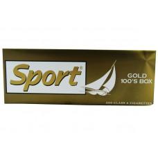 Sport Cigarette  Gold 100's Box