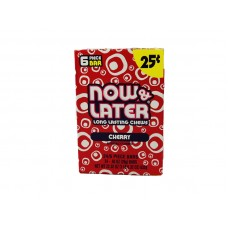 Now & Later Cherry Candy $0.25