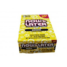 Now & Later Banana Candy