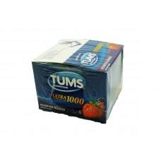 Tums Antacid Ultra strength 1000 Berry