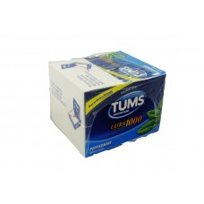 Tums Ultra strength 1000 Peppermint