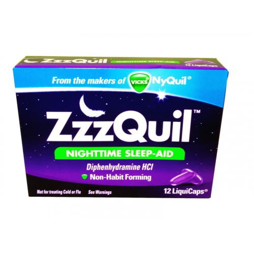 Zzzquil Nighttime Sleep Aid Liquicaps