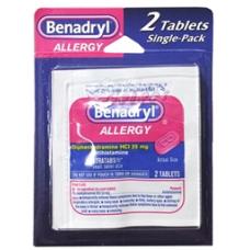 Benadryl Multi Blister Pack