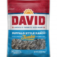David Jumbo Sunflower Seeds Buffalo Style Ranch