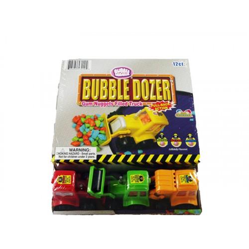 Bubble Dozer Gum Nuggets Filled Truck KD