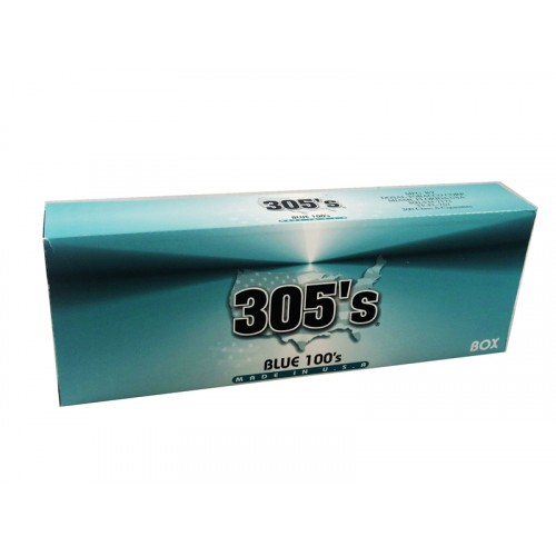 305`S Blue 100'S Box