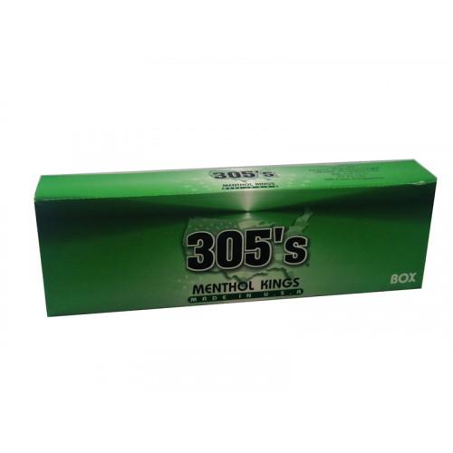 305`S Menthol Kings Box