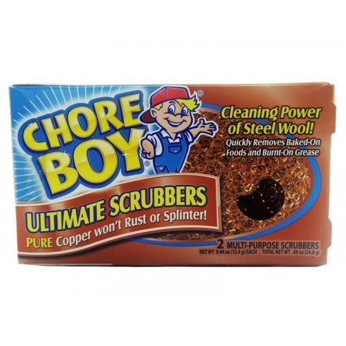 Chore Boy Ultimate Scrubbers Copper