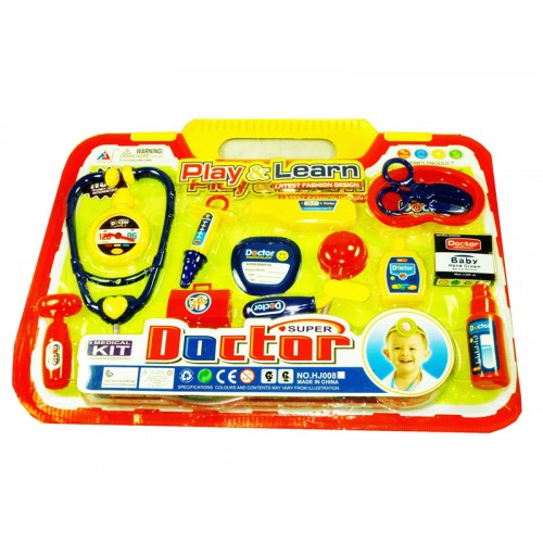 Doctor Medical kit Play & Learn