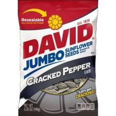 David Jumbo Sunflower Seeds Cracked Pepper