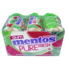 Mentos Gum Pure Fresh Watermelon Bottles