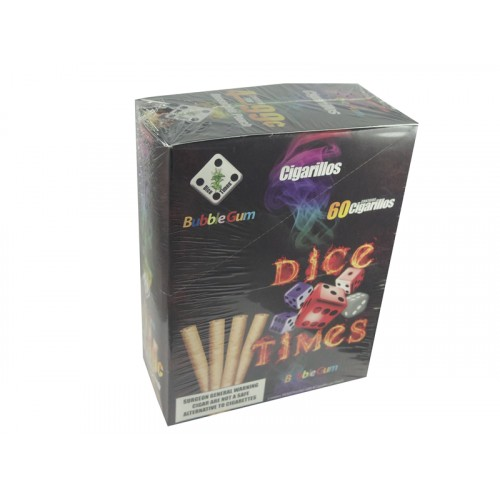 Dice Times Cigarillos Bubble Gum 4/$.99