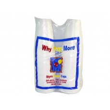 Foam Cups Styro -20 PC 16 Oz