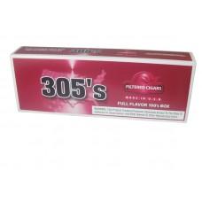 305`S Filtered Cigars Full Flavor 100's Box