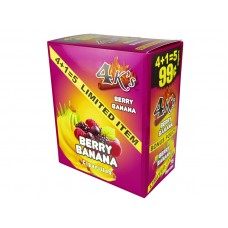 4 Kings Cigarillos Berry Banana 5/.99
