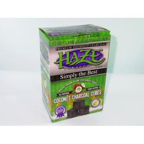Charcoal Haze Coconut Cubes