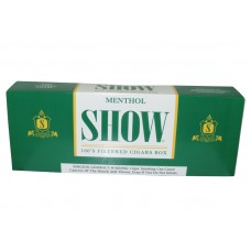 Show Filtered Cigars 100's Menthol