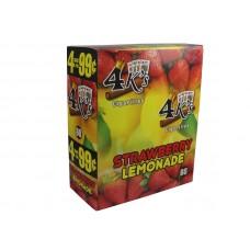 4 Kings Cigarillos Strawberry Lemonade 4/.99
