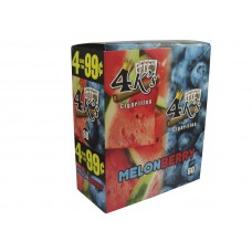 4 Kings Cigarillos Melonberry 4/.99