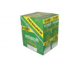 Splitarillos Cigarillos Cali Green Sweets  6/.99